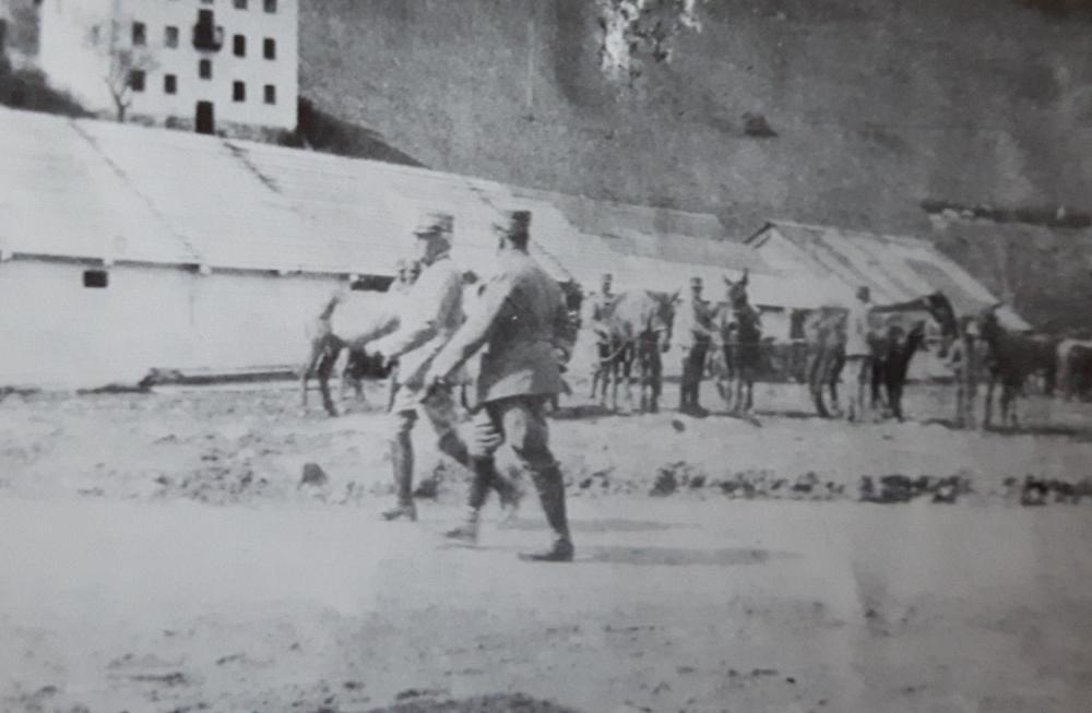 cadorna in rassegna alle truppe