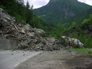 Frana caprile 3 giugno 2006