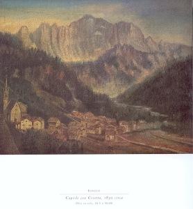 Caprile con civetta, 1830 circa.