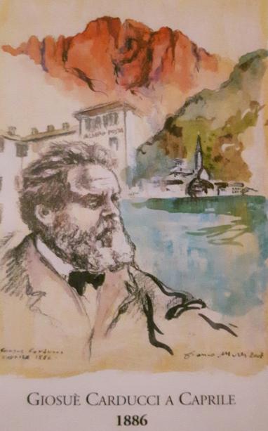 Giosuè Carducci a Caprile